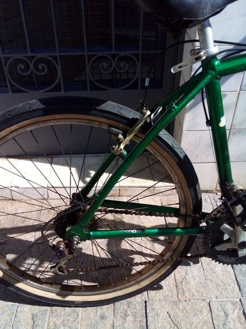 Bicicleta aro 26 18 marchas de alumínio  - Foto 3