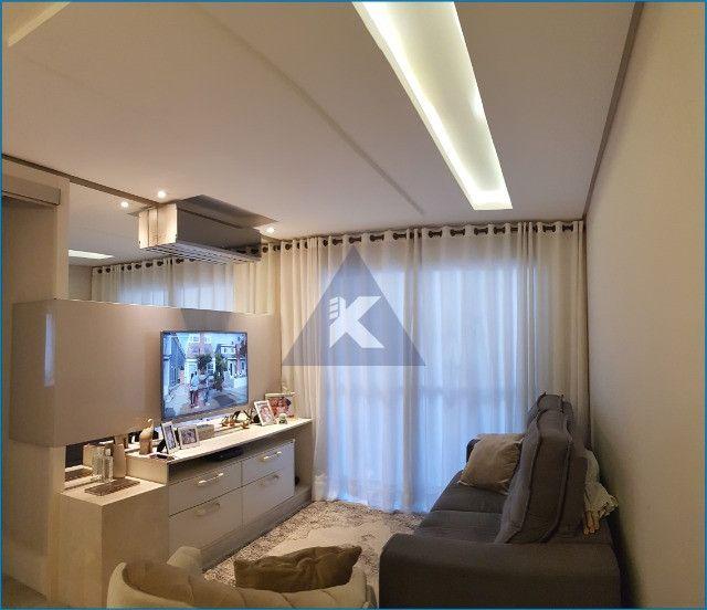 Apartamento Mobiliado, lindo, 2 dormitórios, sacada com churrasqueira, Sapucaia - Foto 3