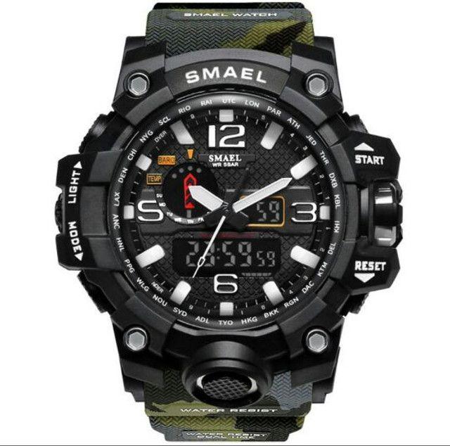 Relógio Smael Camuflado - Foto 2