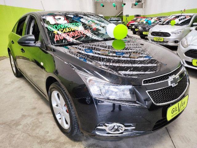 Chevrolet Cruze Sedan Lt 1.8 Automatico Completo Ano 2012 - Foto 2