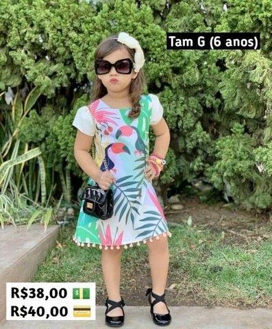 Vestidos 2 a 8 anos - Foto 3