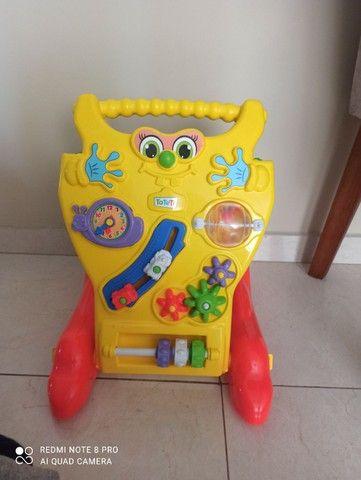 Andador Andador Infantil Para Bebê Educativo 2 Em 1 Menino E Menina - Foto 4