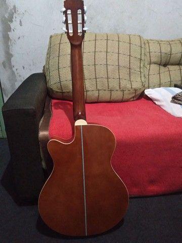 Violão Giannini elétrico usado - Foto 2