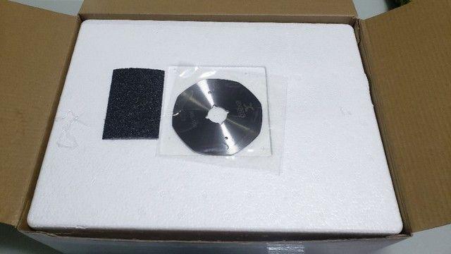 Máquina Corte Tecido 4 P Octogonal Disco Extra Oferta Ex-250 - Foto 2