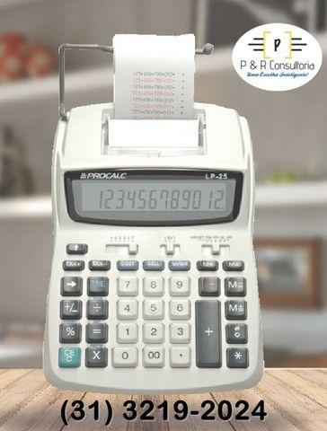 Calculadora de Impressão e Bobina LP25. - Foto 4