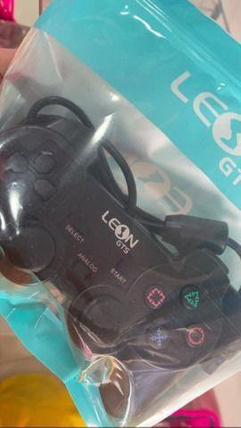 Controle pra PS2 LEON