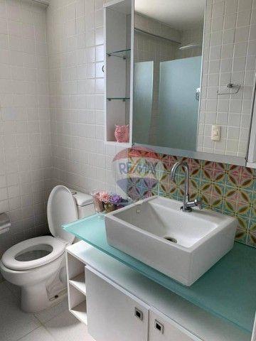 Apartamento com 3 dormitórios à venda, 130 m² por R$ 970.000,00 - Aflitos - Recife/PE - Foto 9