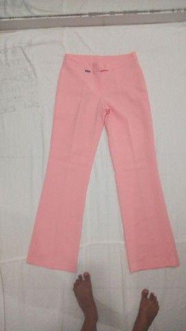 Calça social pantalona rosé Charisma - Foto 2