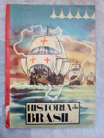 álbum de figurinhas História do Brasil anos 60 - edição 1966. Jabaquara