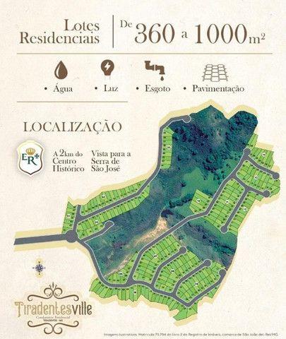 Lançamento em Tiradentes. Lotes em Condomínio Fechado Perto do Centro - Foto 2