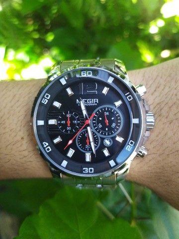 Relógio Megir Luxo Original entrega grátis - Foto 2