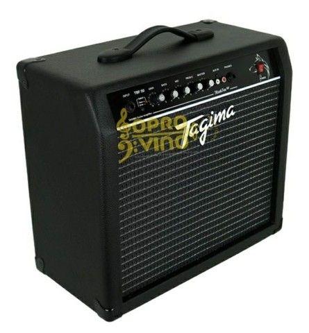 Amplificador Guitarra Black Fox 50 Tagima Tbf 50bk<br><br><br> - Foto 4