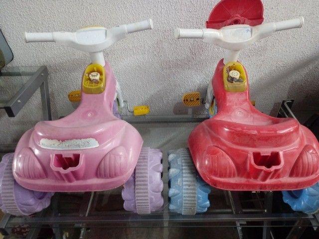 Triciclos infantil.  R$ 29,00 Cda - Foto 2