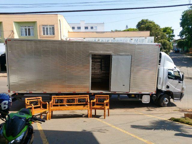 Bancos Demolição Peroba Rosa Com Ladrilhos + Mesinha. Frete GRÁTIS  - Foto 5