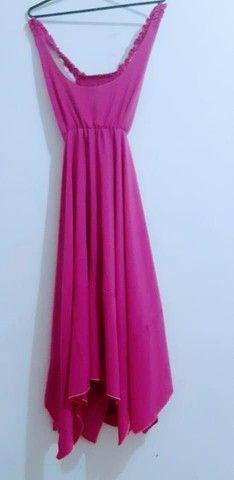 Vendo esse lindo vestido rosa - Foto 3