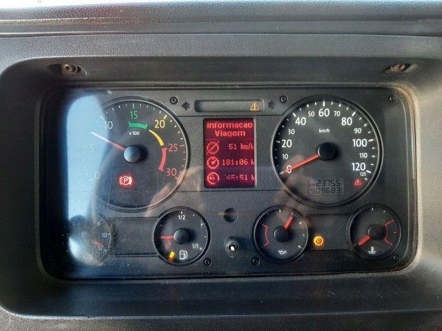 Volkswagen 19-320 2008/2008 cabine leito teto alto 4X2 completo único dono motor novo - Foto 12