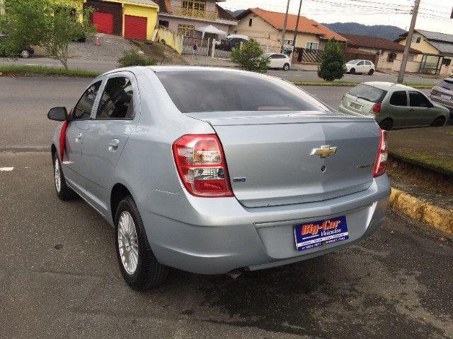 Chevrolet Cobalt Lt Flex 2013 Completo Automático - Foto 4