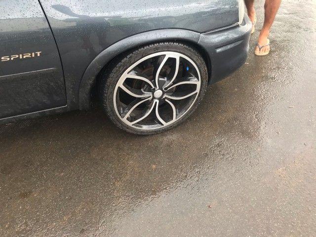 Vendo roda 18 com pneus novos 215/35/18 - Foto 3