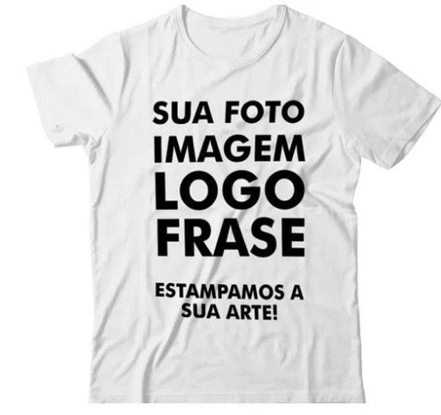 camisa branca poliester - Foto 2