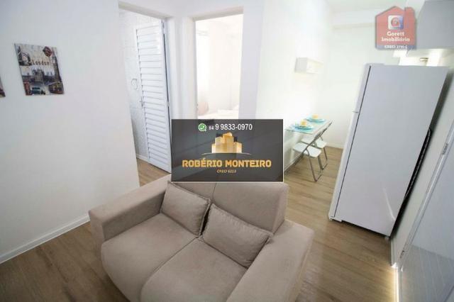 Saldão Apartamento Candelária 1Q 100%Mobiliado- Lançamento HBC Qualidade Garantida