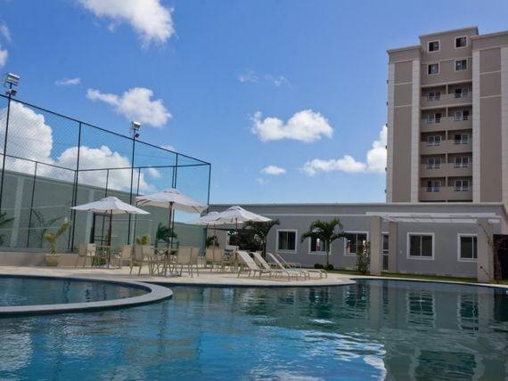 Apartamento 2/4 - Nova Parnamirim - Residencial Nimbus