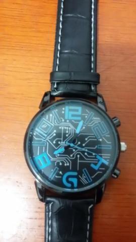 aa52dd7e027 Relógio Essencial Nova Moda Relógios Pulseira de Couro dos homens de Luxo  Homens
