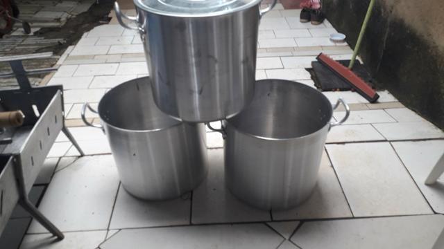 Caldeirão de alumínio 40 litros - Foto 2