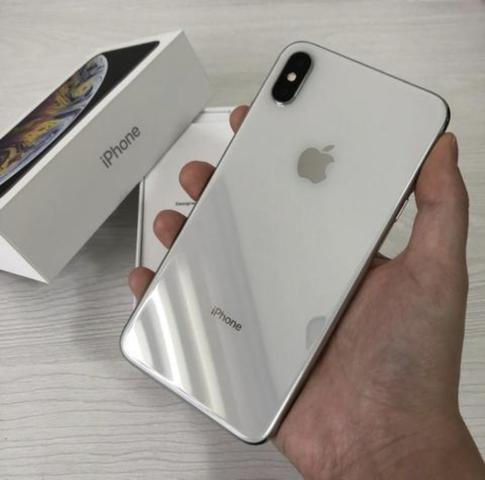 IPhone XS Max silver 64 com nota fiscal