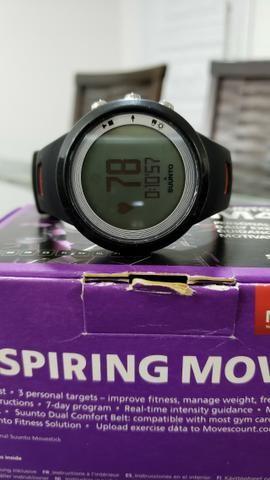 Relógio monitor cardíaco Suunto M4 com fita HR dual