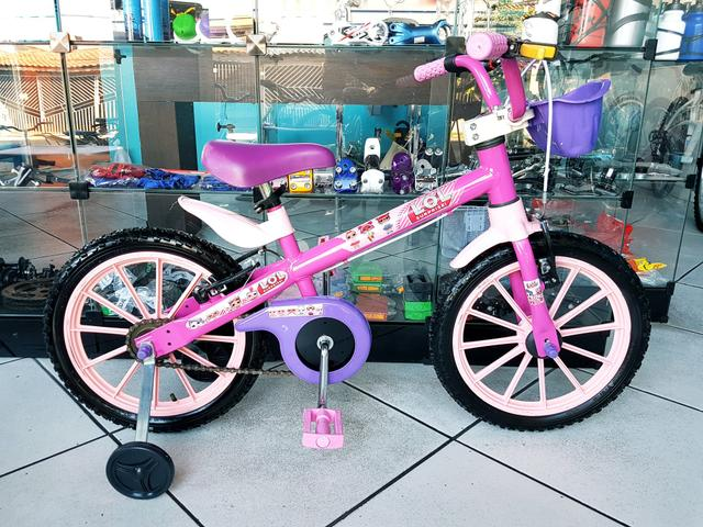 Bicicleta aro 16 LOL . IMPECÁVEL
