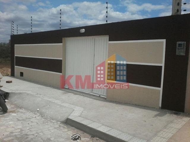 Vende-se Casa nova com terreno de 200 m² - KM IMÓVEIS
