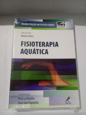 Livro Fisioterapia aquática