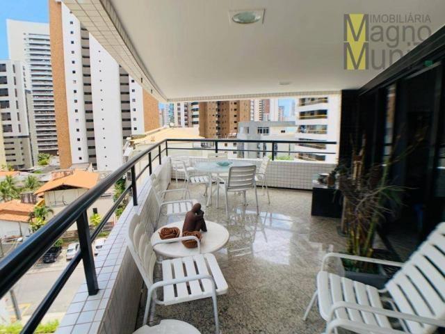 Apartamento de alto padrão à venda, 253 m² por r$ 1.650.000 - meireles - fortaleza/ce - Foto 5