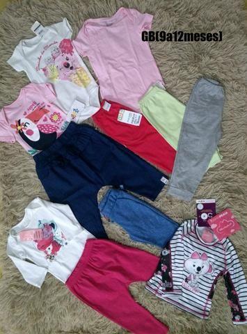 Lote de roupas infantil