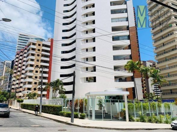 Apartamento de alto padrão à venda, 253 m² por r$ 1.650.000 - meireles - fortaleza/ce - Foto 2