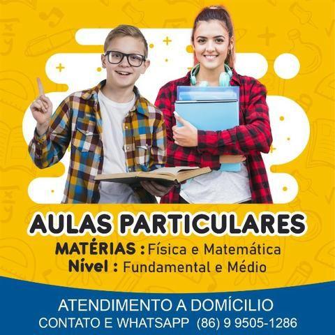 Aulas Particulares Física/Matemática
