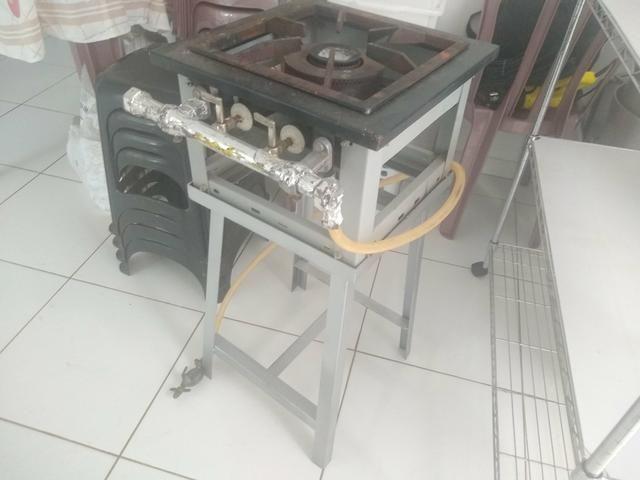 Fogão industrial 1 boca profissional - Foto 6