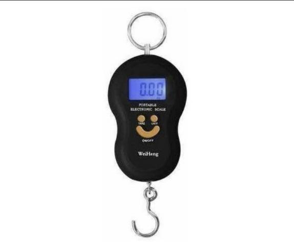 Balança 50kg digital com Gancho pesar peixe balança carne em feira manual pesar ferro etc