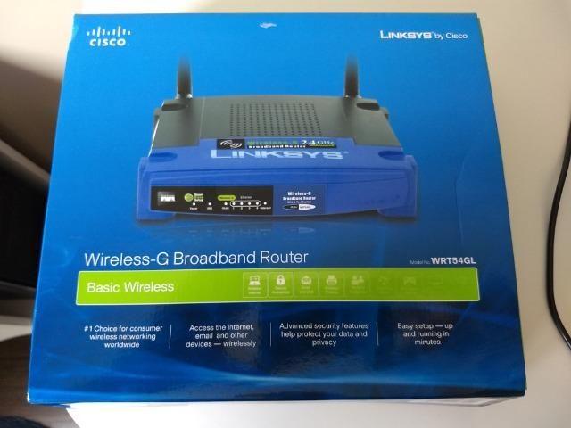 Roteador Wifi Linksys-Cisco