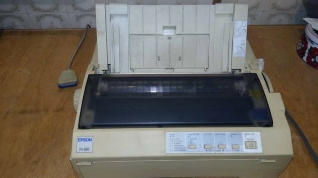 Impressora Epson FX-880 - Foto 4
