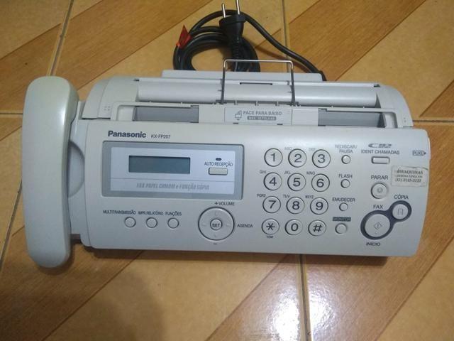 Aparelho de Fax e tira cópias - Foto 2