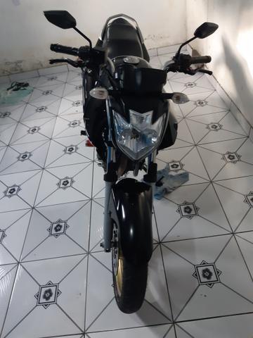 Vendo essa linda moto ,está em dias Pnel bom kit transmissão trocado óleo filtros está top - Foto 5