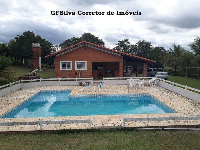 Chácara 30.000 m2 Casa 4 dorm. , suite, Píscina , fácil acesso Ref. 424 Silva Corretor - Foto 2