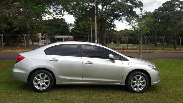 Honda Civic EXS Automatico Top de Linha + Teto Solar 2012 - Foto 2