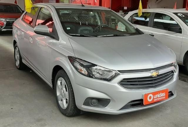 Prisma Lt 1.4 2019 Prata 30mil kms - Financia sem entrada - aceita carro na troca - Foto 12