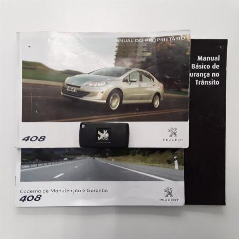408 2011/2012 2.0 FELINE 16V FLEX 4P AUTOMÁTICO - Foto 10