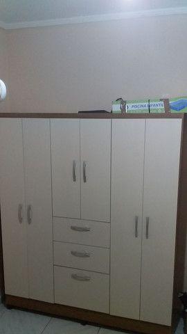 Guardar roupa 6 portas 2 gavetas e sapateira