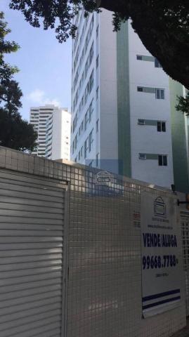 Apartamento com 1 dormitório para alugar, 31 m² por R$ 2.100,00/mês - Graças - Recife/PE - Foto 8