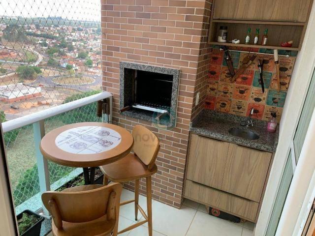 Apartamento com 3 dormitórios à venda, 73 m² por R$ 545.000,00 - Monte Castelo - Campo Gra - Foto 16
