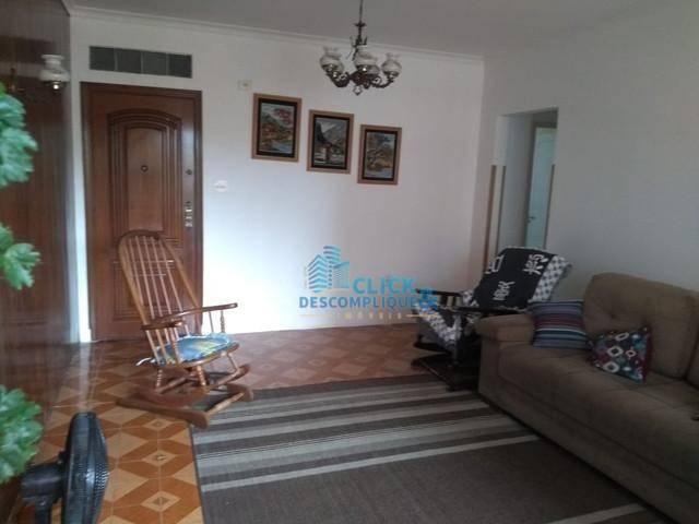 Apartamento à venda, 140 m² por R$ 510.000,00 - Ponta da Praia - Santos/SP - Foto 2